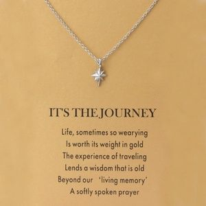 IT'S THE JOURNEY-STAR NECKLACE SILVER